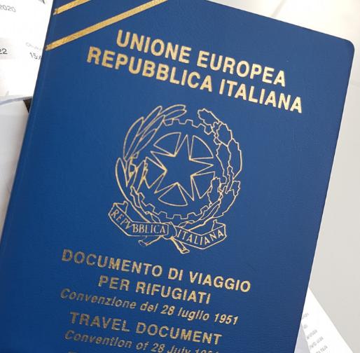 Documento di viaggio per rifugiati